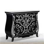 General for store1 Black/Silver Cabinet